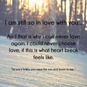 ll never get over you, you'll never get over me... #missingyou # ...