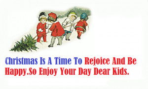 Beautiful Christmas Quotes For Children