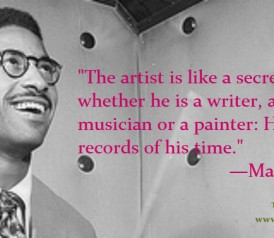 You can read this quote by Max Roach, from Notes and Tones: Musician ...