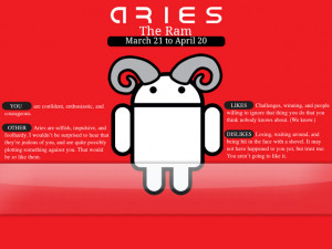 Aries Android G1 Wallpaper