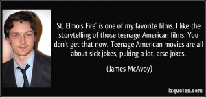St. Elmo's Fire' is one of my favorite films. I like the storytelling ...