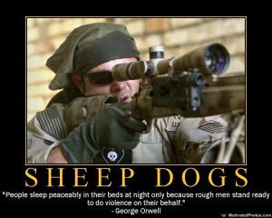 Gun Motivator of the day: Sheep Dogs.