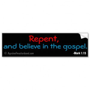Christian Quotes Bumper Stickers
