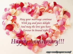 marriage anniversary wishes happy 1st anniversary card happy 1st ...