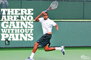 No pain no gain... #tennis @athleticdna