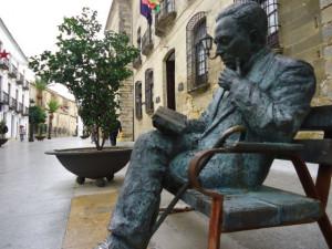 Antonio Machado in Baeza