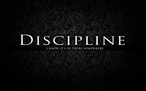 Discipline sport quote motivation:Gray