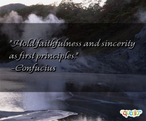 Faithfulness Quotes