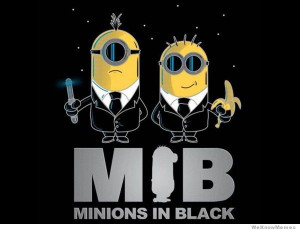 Men in Black Minions
