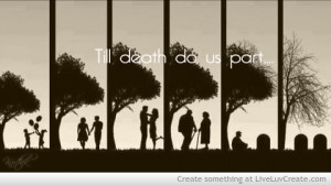 couples, cute, love, quote, quotes, till death