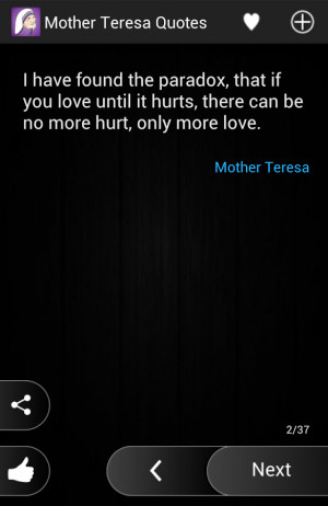 Mother Teresa Quotes - screenshot