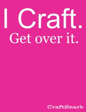 CRAFT - Get Over It