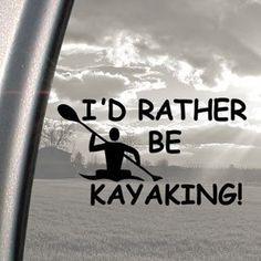 ... Black Decal Kayak Paddle Car Sticker: Arts, Crafts & Sewing $2.99 More