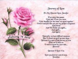 Journey Of Love ~ Anniversary Quote