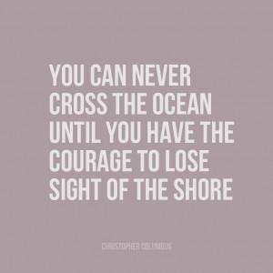 Christopher Columbus Quote