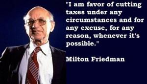 Milton friedman quotes 61