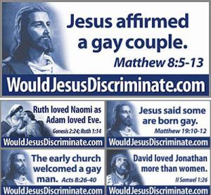 Would Jesus Discriminate?