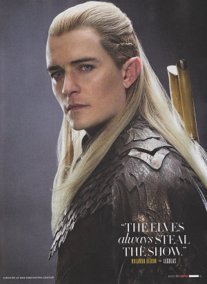 ... from The Hobbit: The Desolation of Smaug including Tauriel and Legolas