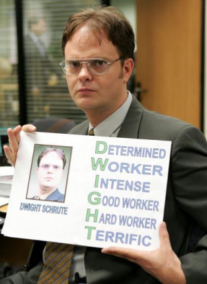 Top Twenty Dwight Schrute Quotes From 'The Office'