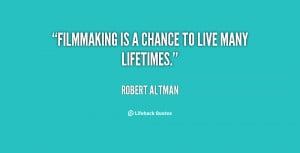 Filmmaking Quotes