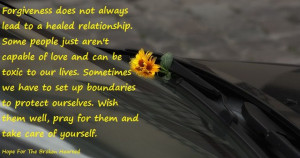quotes about forgiveness in relationships