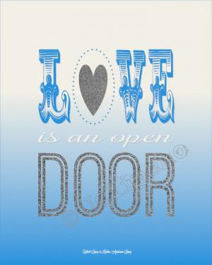 Disney Frozen Quotes Door - disney frozen quote