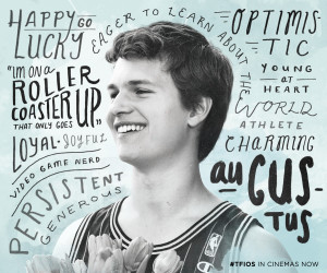 Get to know Augustus Waters at a cinema near you now - The Fault in ...