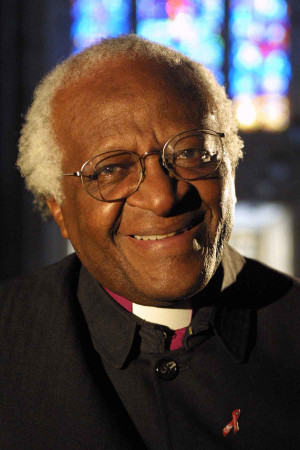 anti apartheid activist and nobel peace prize recipient desmond tutu ...