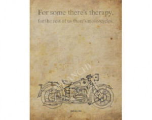 ... R51, 1938, Motorcycles quote, A3 - 11.5x16 in., choose another quote