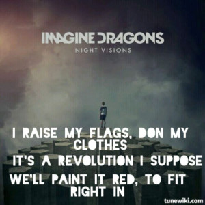 Imagine Dragons - Radioactive lyrics: Lyrics Songs, Lyrics Quotes ...