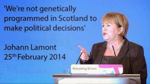 In (Partial) Defence of Johann Lamont