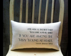 lyrics on pillow Sinatra