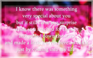 Was Something Very Special About You, Picture Quotes, Love Quotes ...