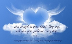 An Angel In Your Heart They Say Will Give You Guidance Every Day ...