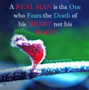 Real Man Real Men Quotes