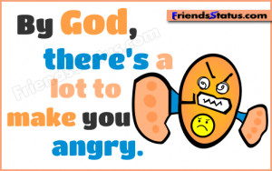 Angry Friend Quotes Picture