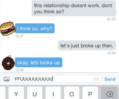 Break Up Text Quotes Your boyfriend to break up