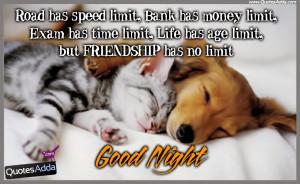 Good Night Quotes Sms Hindi