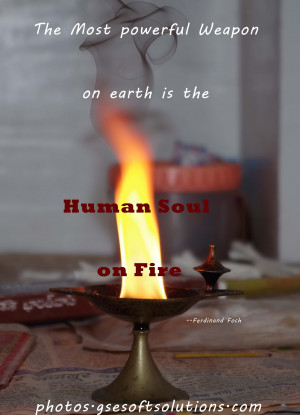 weapon earth human soul fire spritual quotes