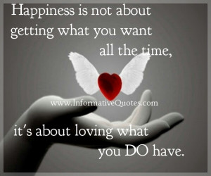 """How much time you waste in life fighting for the things you want """"so ..."""