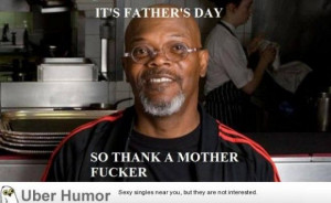 Samuel L. Jackson on father's day