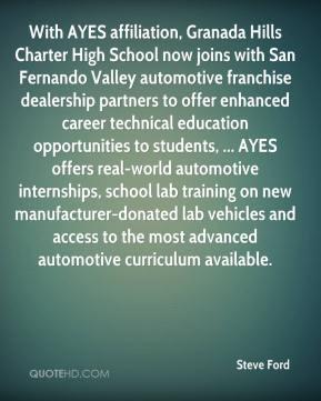Granada Hills Charter High School now joins with San Fernando Valley ...