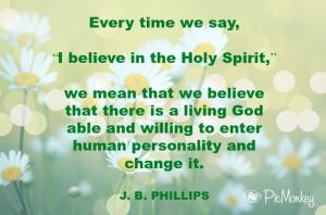 Holy Spirit quote