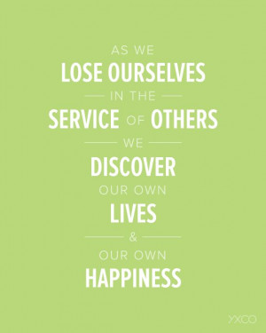 LDS Quotes - As We Lose Ourselves in the Service of Others by Dieter F ...