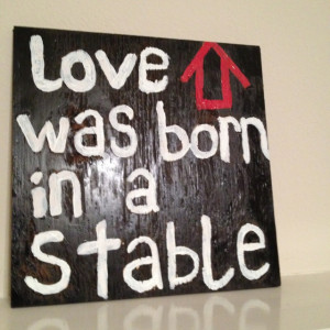 Made a craft I saw on Pinterest