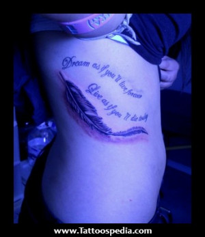 ... %20With%20Feather%20Tattoos%201 Quotes That Go With Feather Tattoos