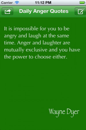 Daily Anger Quotes I for iPhone, iPod touch, and iPad on the iTunes ...