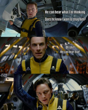 merlin: X-Men:First Class Macros, because silliness is always ...