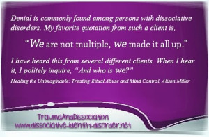 Quotes About Dissociative Identity Disorder
