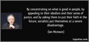 More Ian Mcewan Quotes